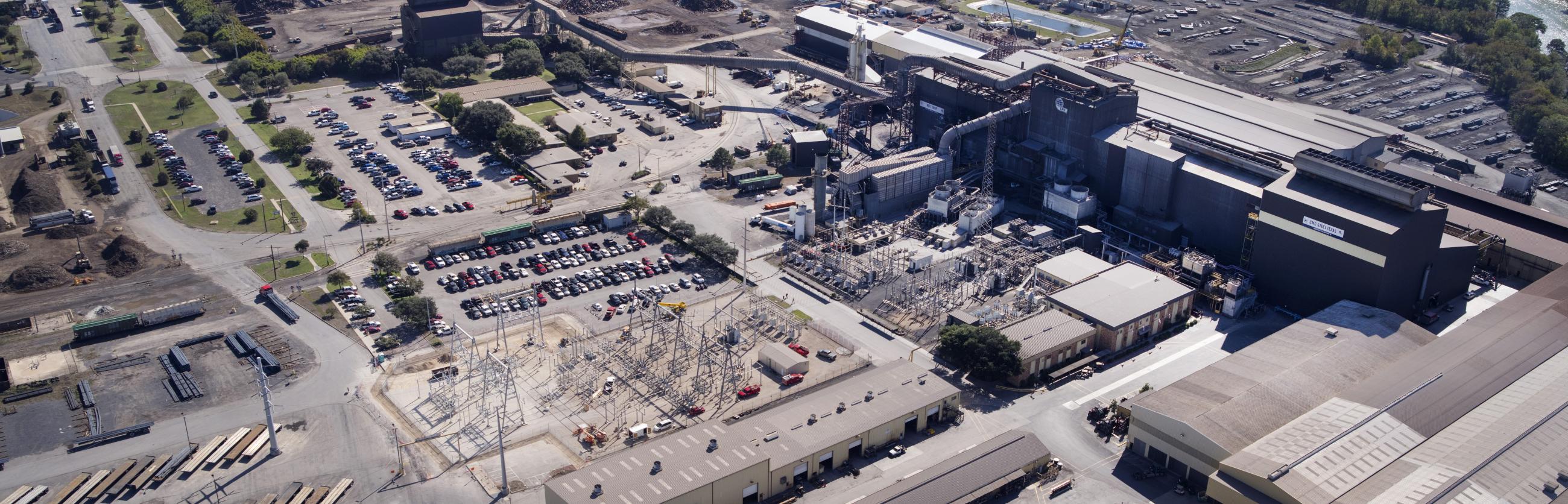 CMC Steel Manufacturer in Seguin Texas