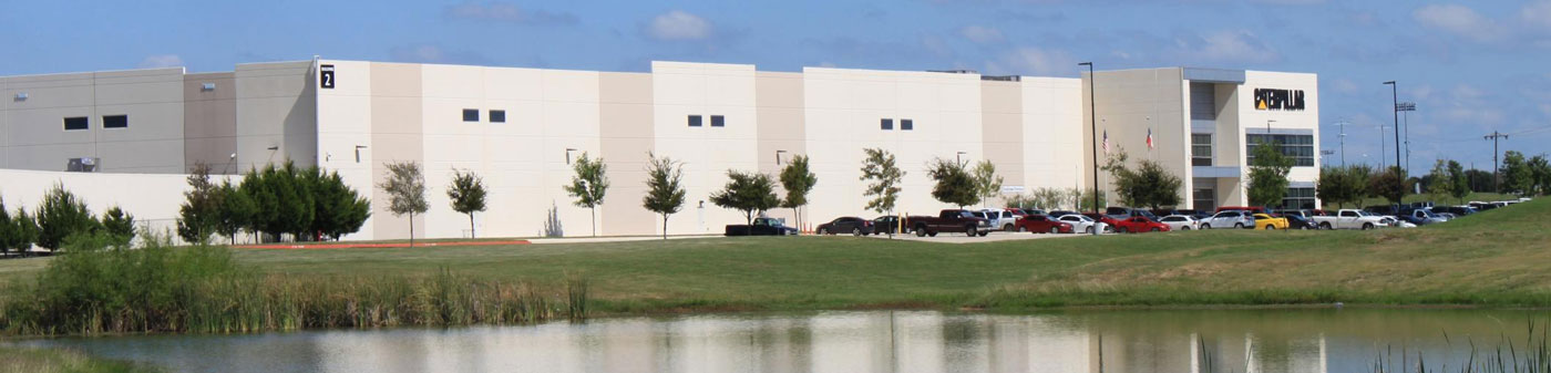 Caterpillar Manufacturing Plant in Seguin Texas South