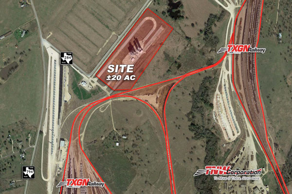 20-Acre Rail Served Property for Sale/Lease Photo