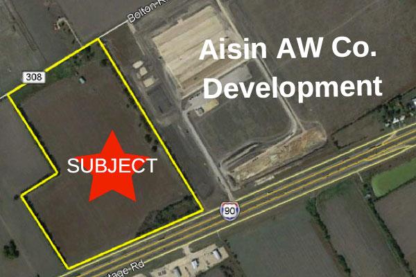 Aisin AW Co. Development Photo