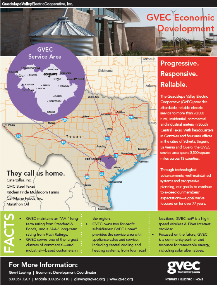 Thumbnail Image For GVEC Fact Sheet - Click Here To See