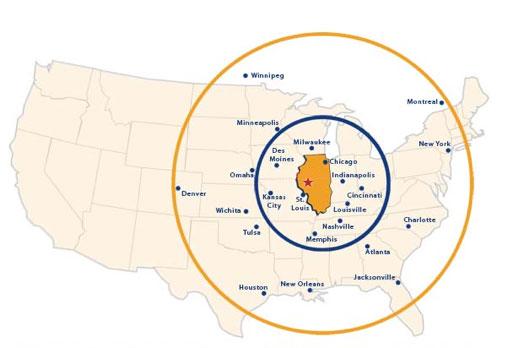 business advantages map