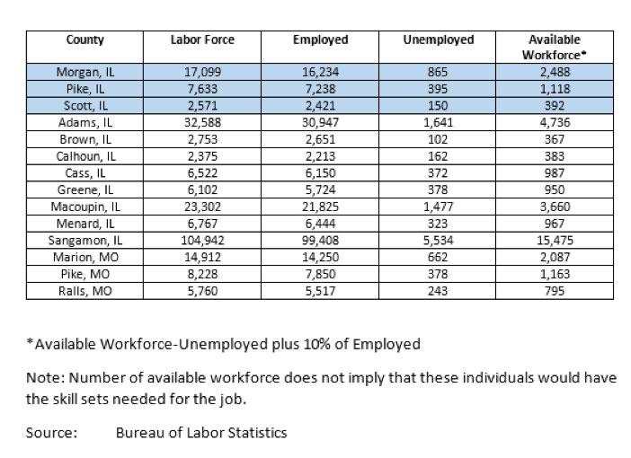 workforce chart