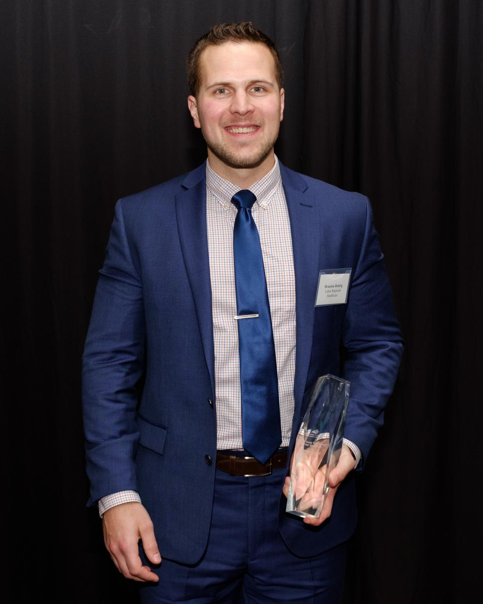 Young Professional of the Year: Brandon Rohrig, Lakes Regional Healthcare