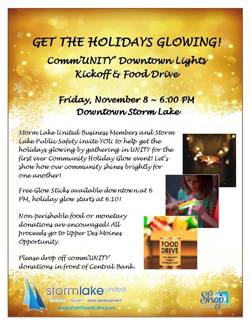 Event Promo Photo For CommUNITY Downtown Lights