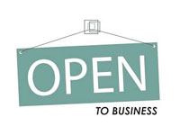 Open to Business Photo
