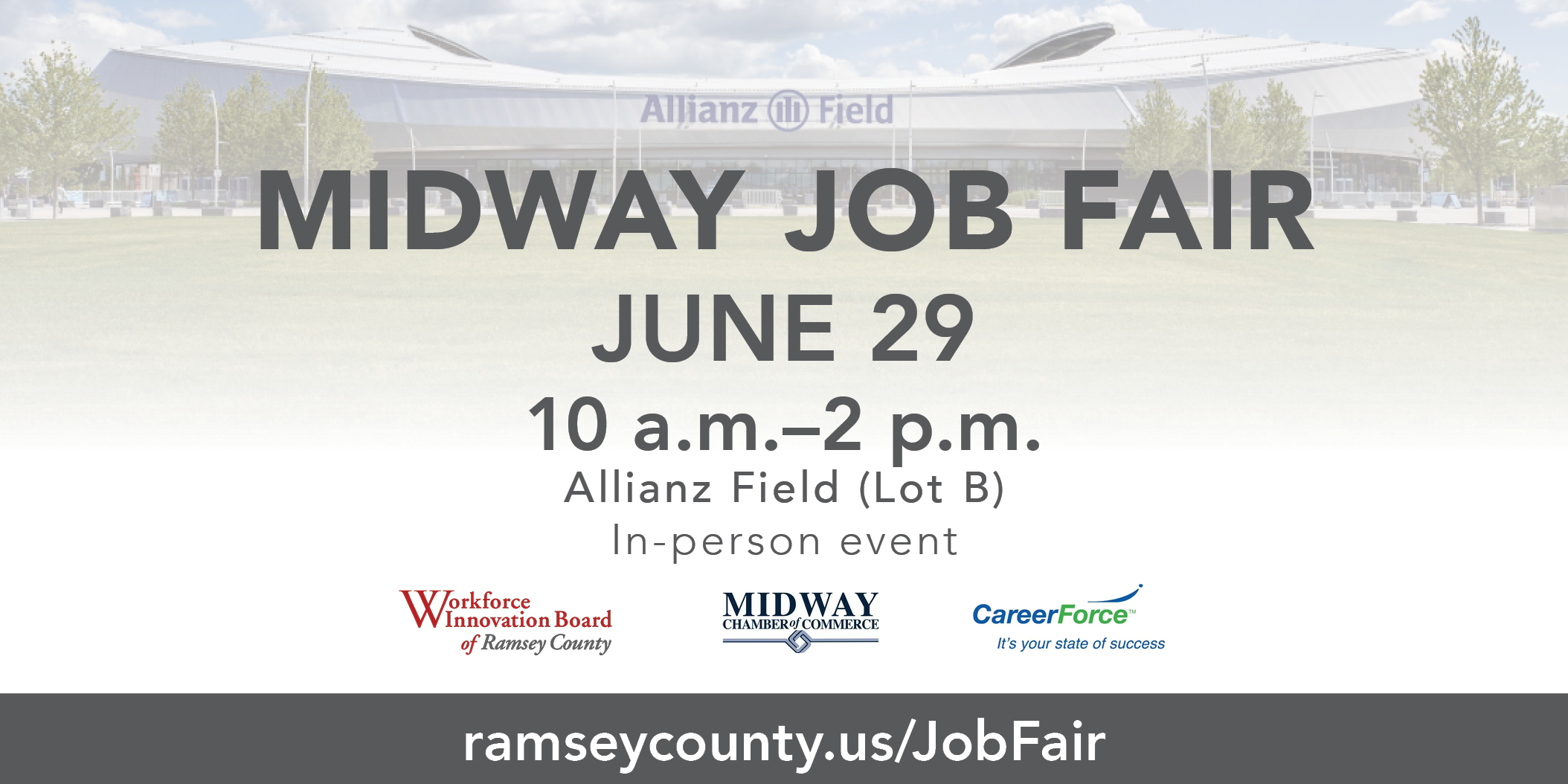 Midway Area In-Person Job Fair Photo - Click Here to See