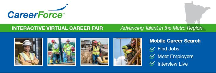 Metro Region Virtual Construction Career Fair - June 9 Photo