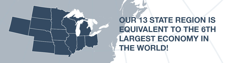 13-state regional map