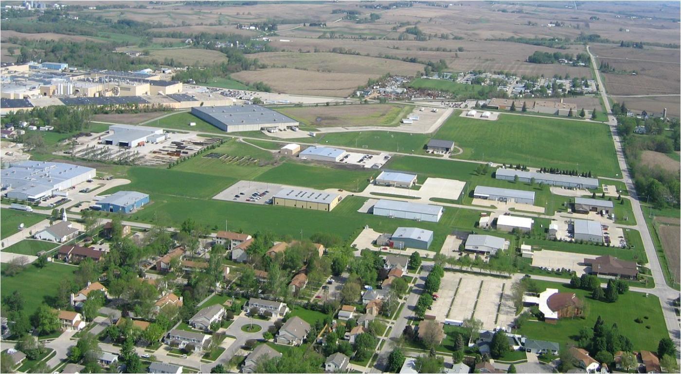 aerial of jasper county