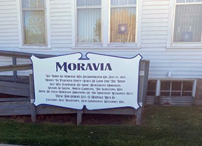 Moravia engaged in modern struggle Photo - Click Here to See