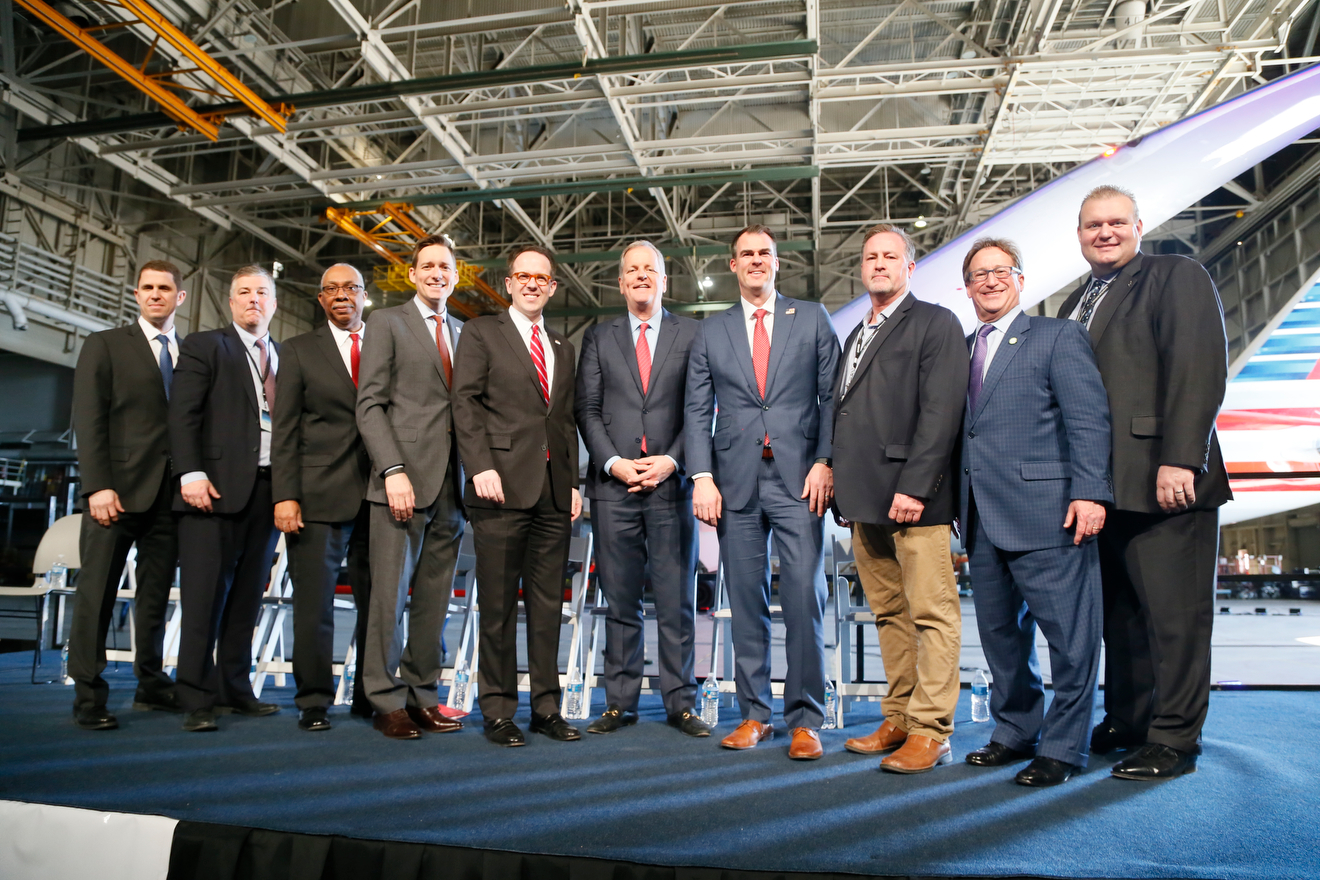 American Airlines to invest $550 million in Tulsa maintenance base Main Photo