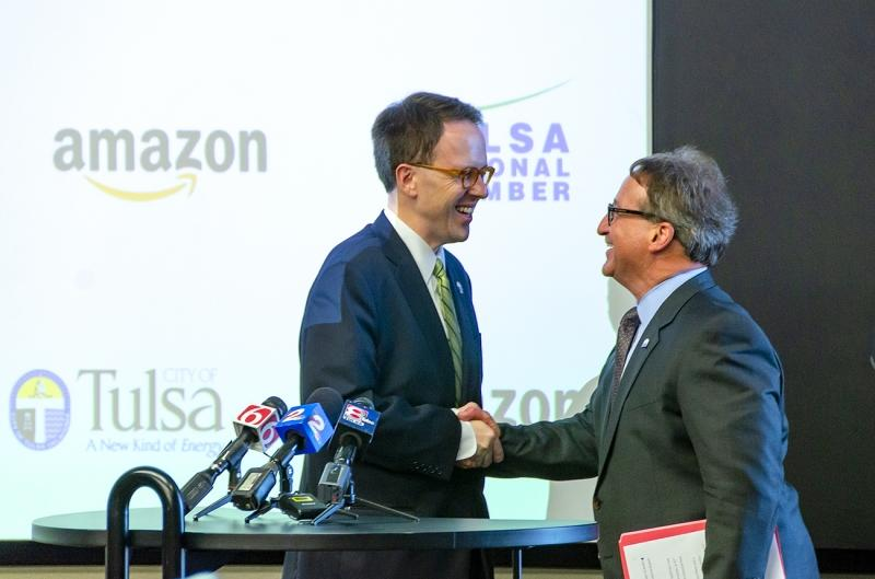 Amazon announces Tulsa fulfillment center Main Photo