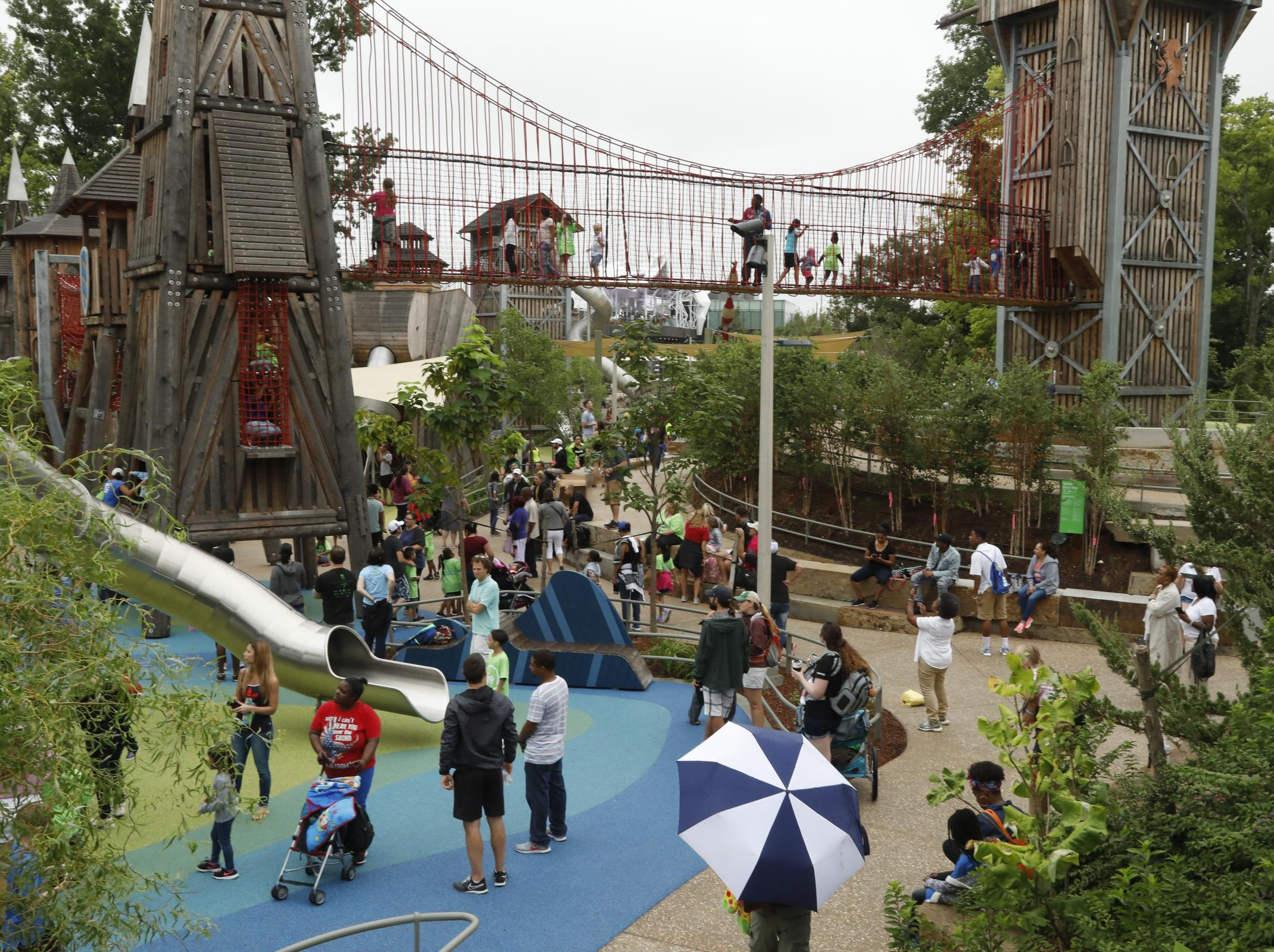 Gathering Place park opens to 50,000 on opening weekend Main Photo