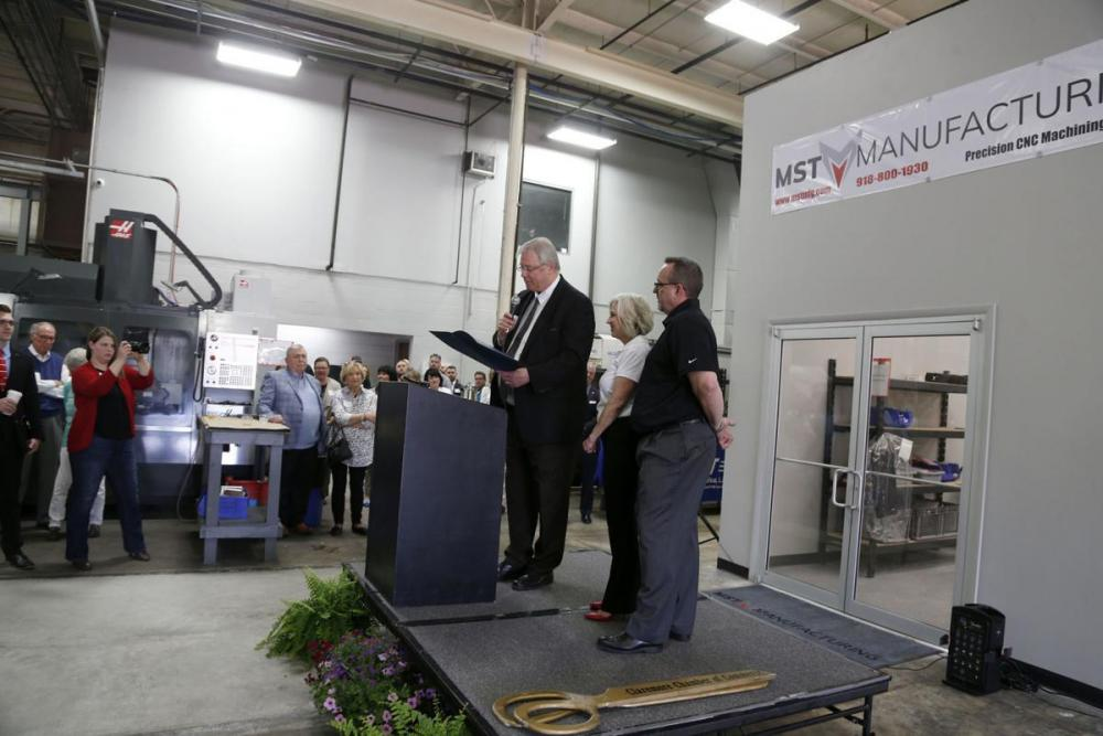 Officials dedicate new MST manufacturing facility in Claremore Main Photo
