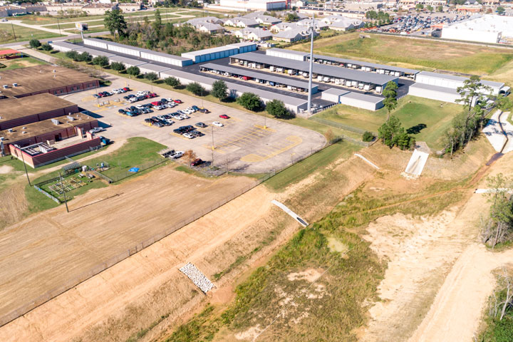 aerial parking