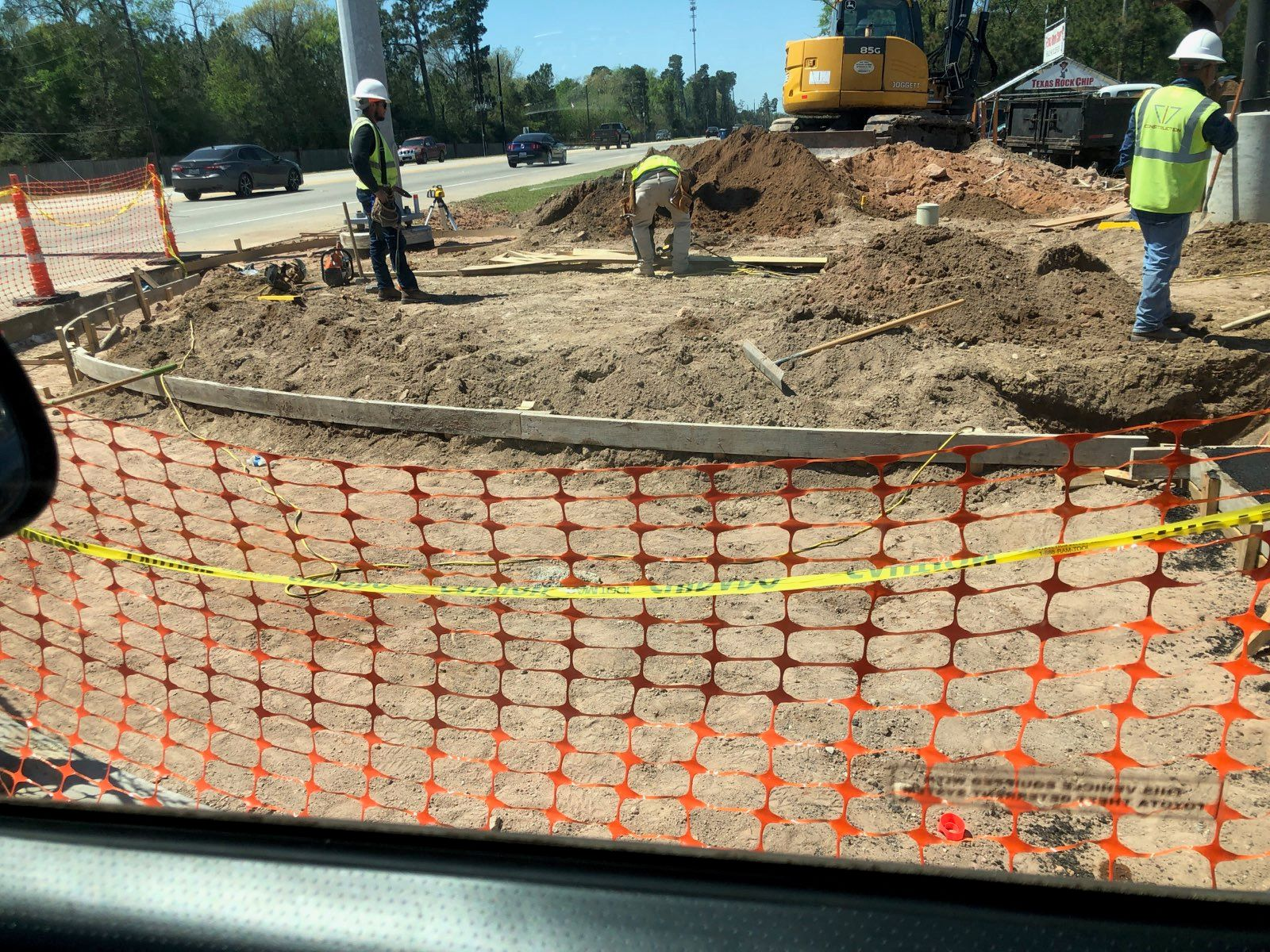 Research Forest R-Turn Lane to Improve Traffic Flow Nears Completion Main Photo