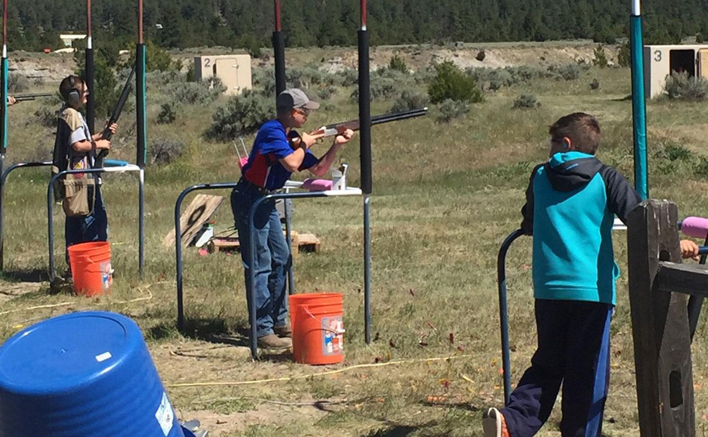 rifle range practice