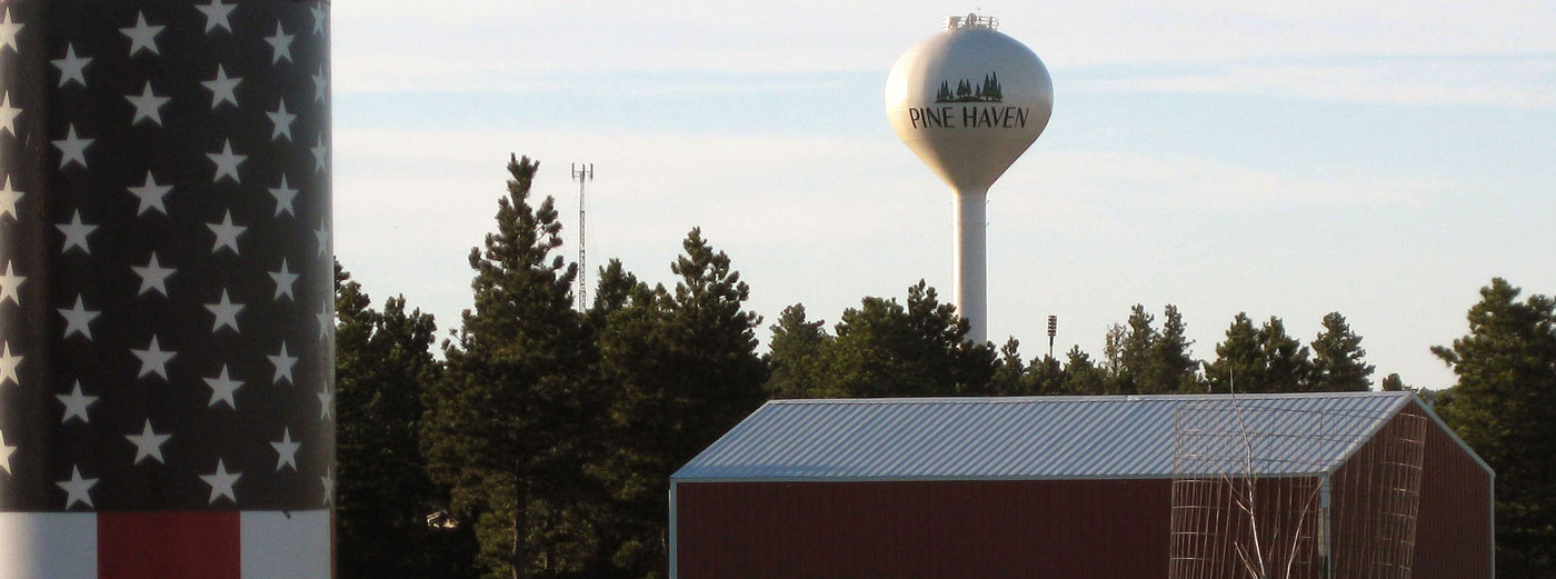 pine haven water tower
