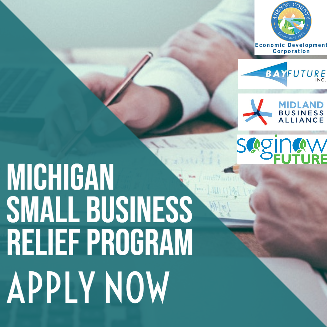 Relief Grants Awarded to 205 Small Businesses in Arenac, Bay, Midland and Saginaw Counties Main Photo