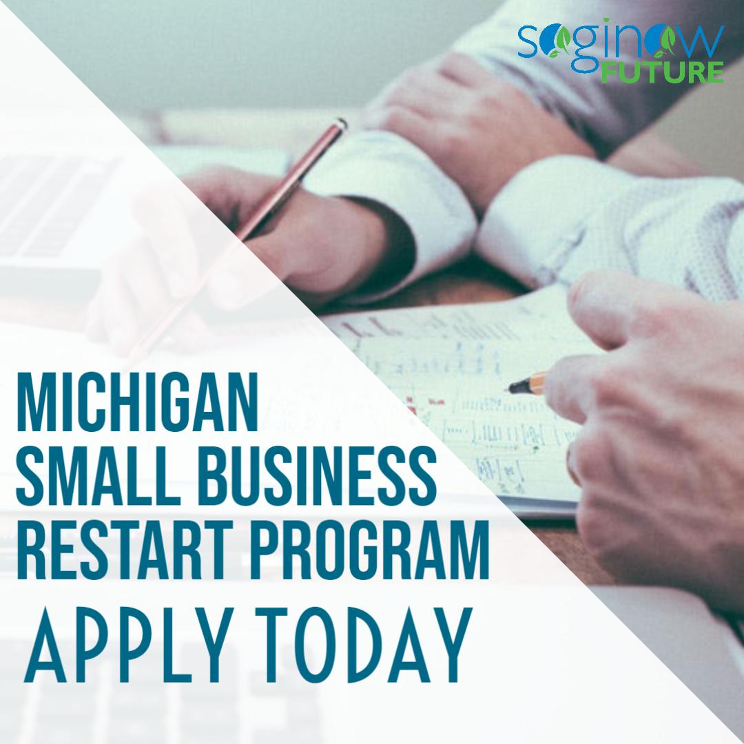 Michigan Small Business Restart Program Apply Now Main Photo