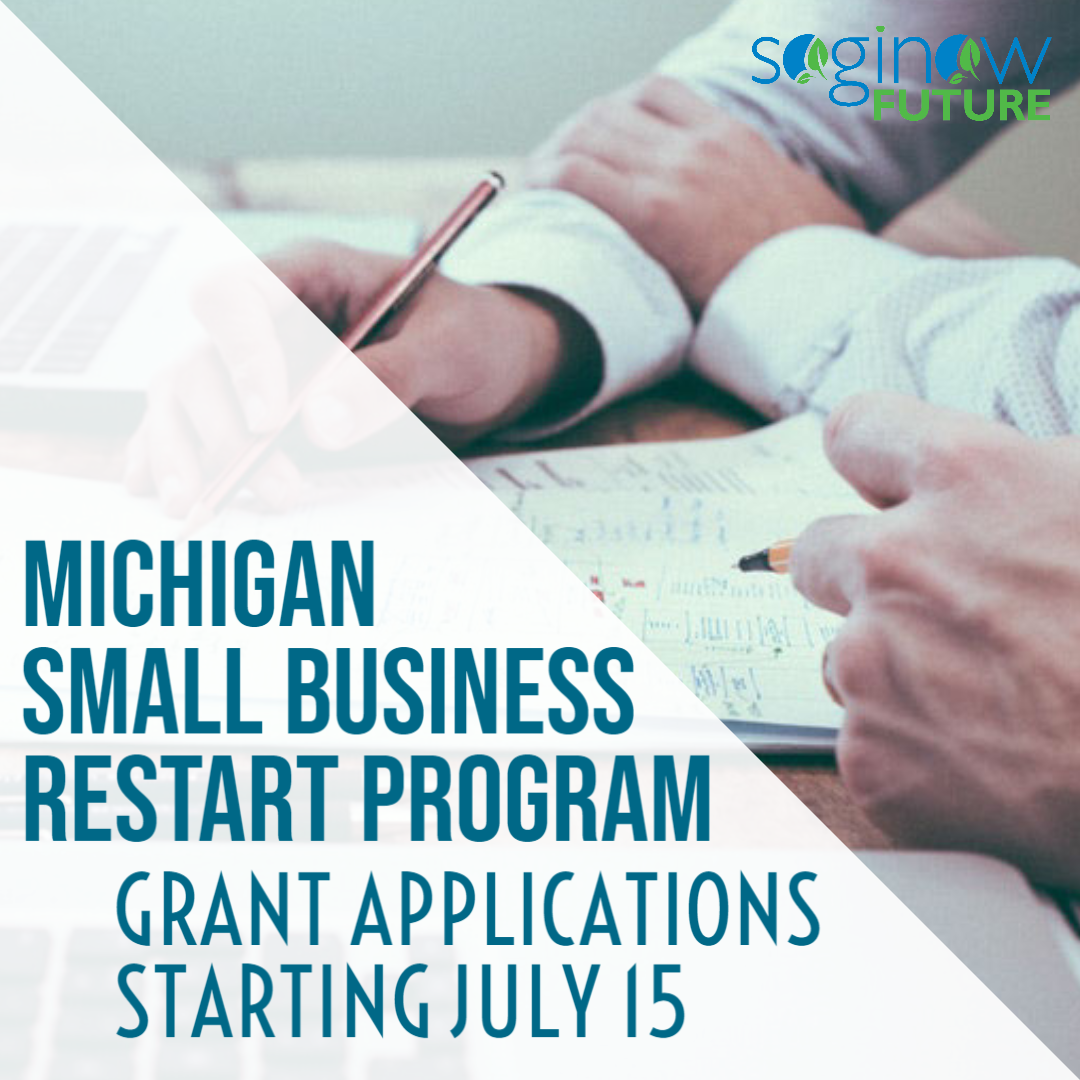 More Than $3.5 Million For Saginaw County & Regional Small Businesses - Michigan Small Business Restart Program Main Photo