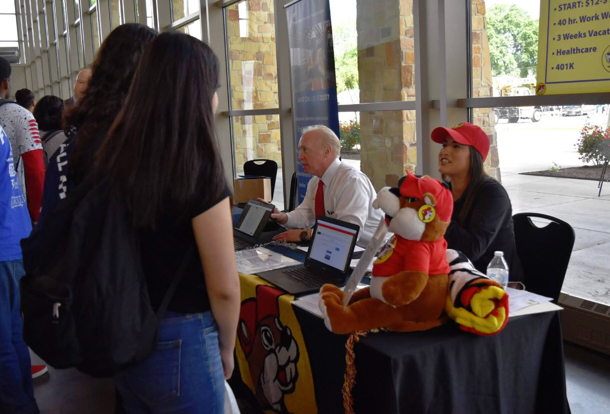 Students learn career advice at 6th annual Youth Career Day in Bastrop Main Photo