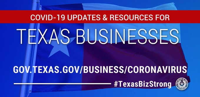 COVID-19 Updates & Resources for Texas Businesses Main Photo