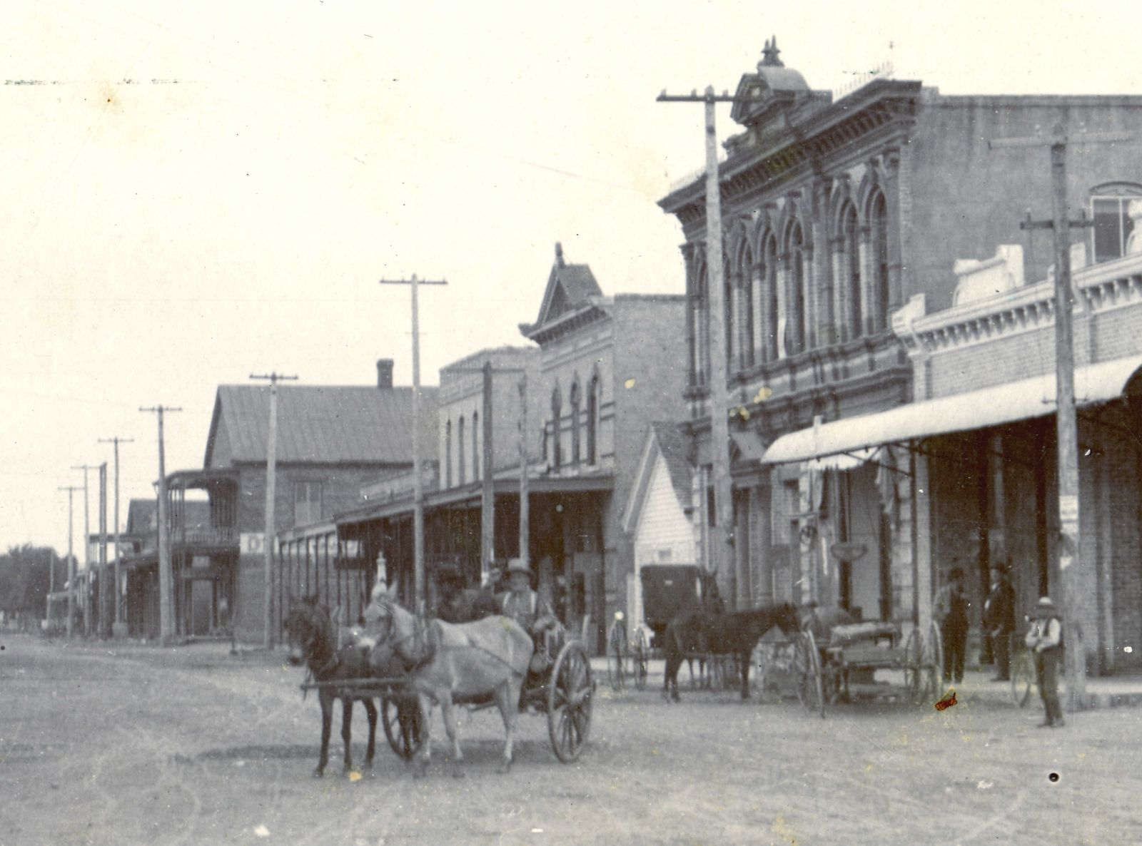 first national bank and main street