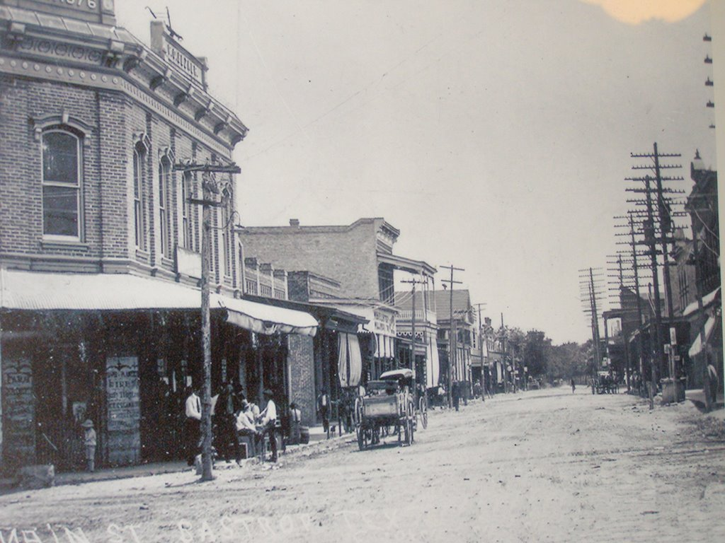 historic downtown photo