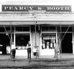 Pearcy & Booth storefront