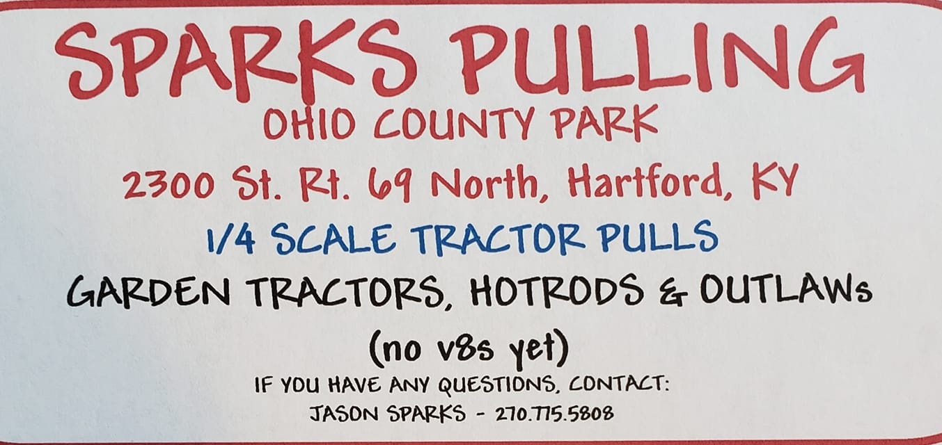 Sparks Pulling at Ohio County Park Photo