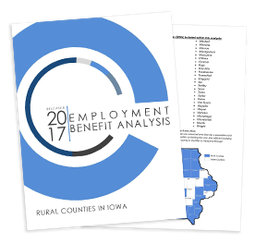 Thumbnail Image For 2017 Employment Benefit Analysis - Rural Counties