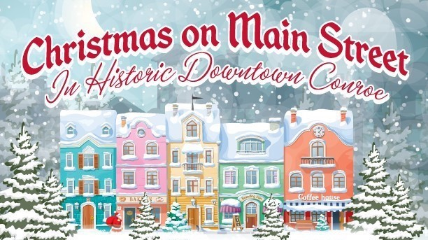 Downtown Conroe Shows that Merry & Bright is Made Here Main Photo