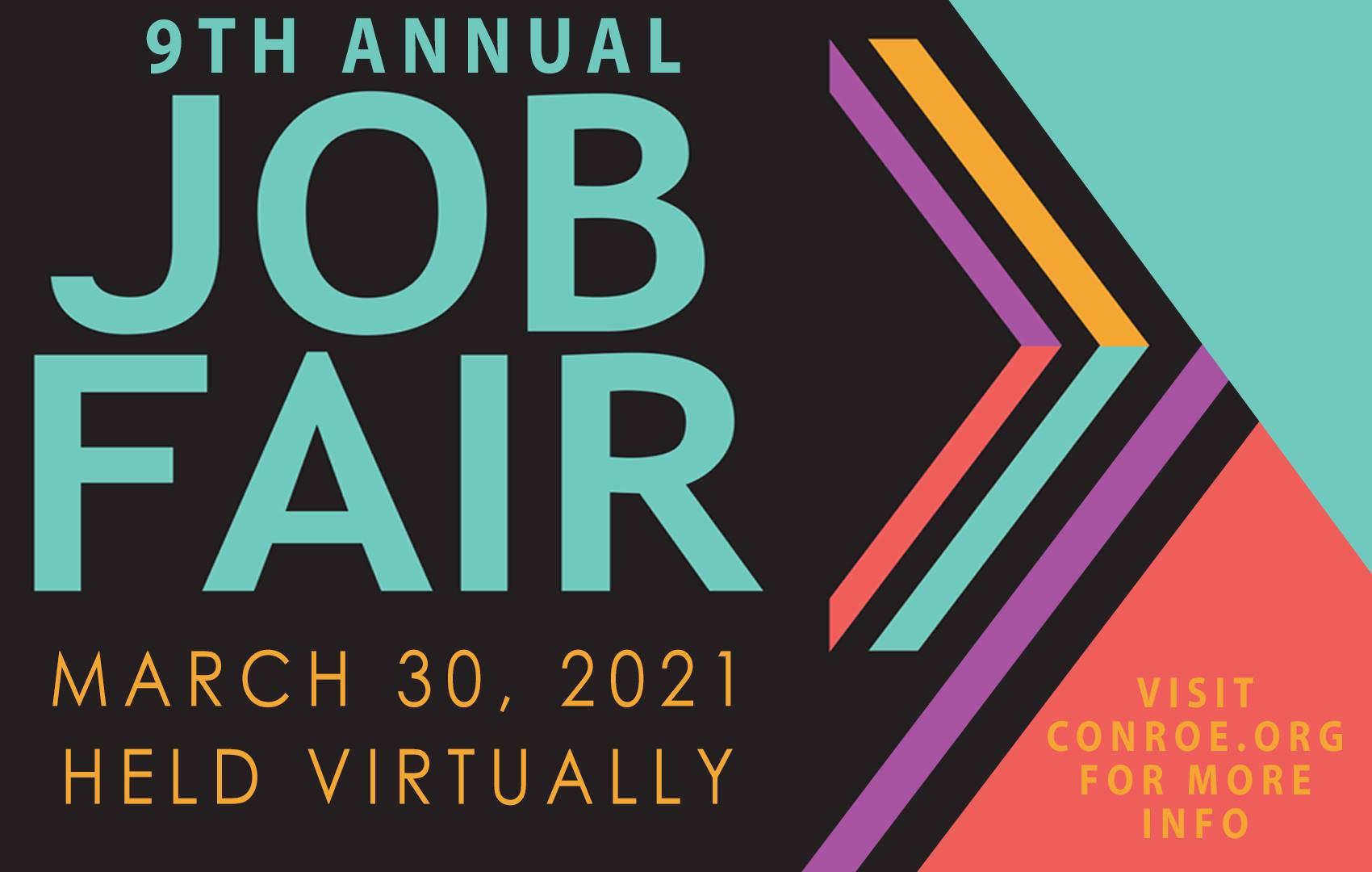 9th Annual Conroe Job Fair Set for March 30 Utilizing Virtual Platform Main Photo