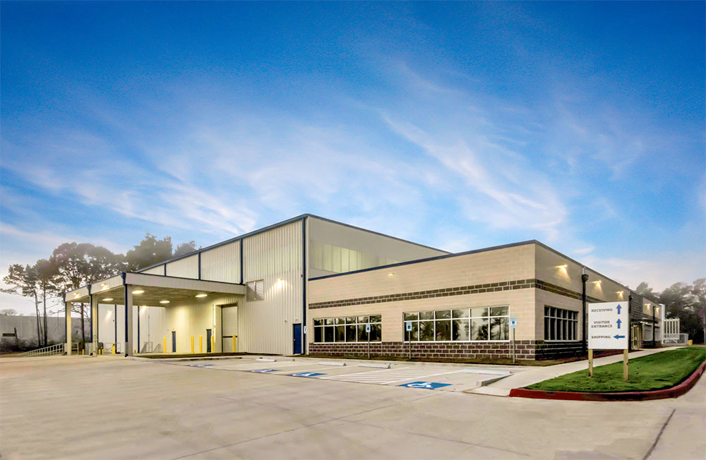 Archway Properties Sells Manufacturing Facility in 1,655-Acre Conroe Park North to LaserWeld Photo - Click Here to See