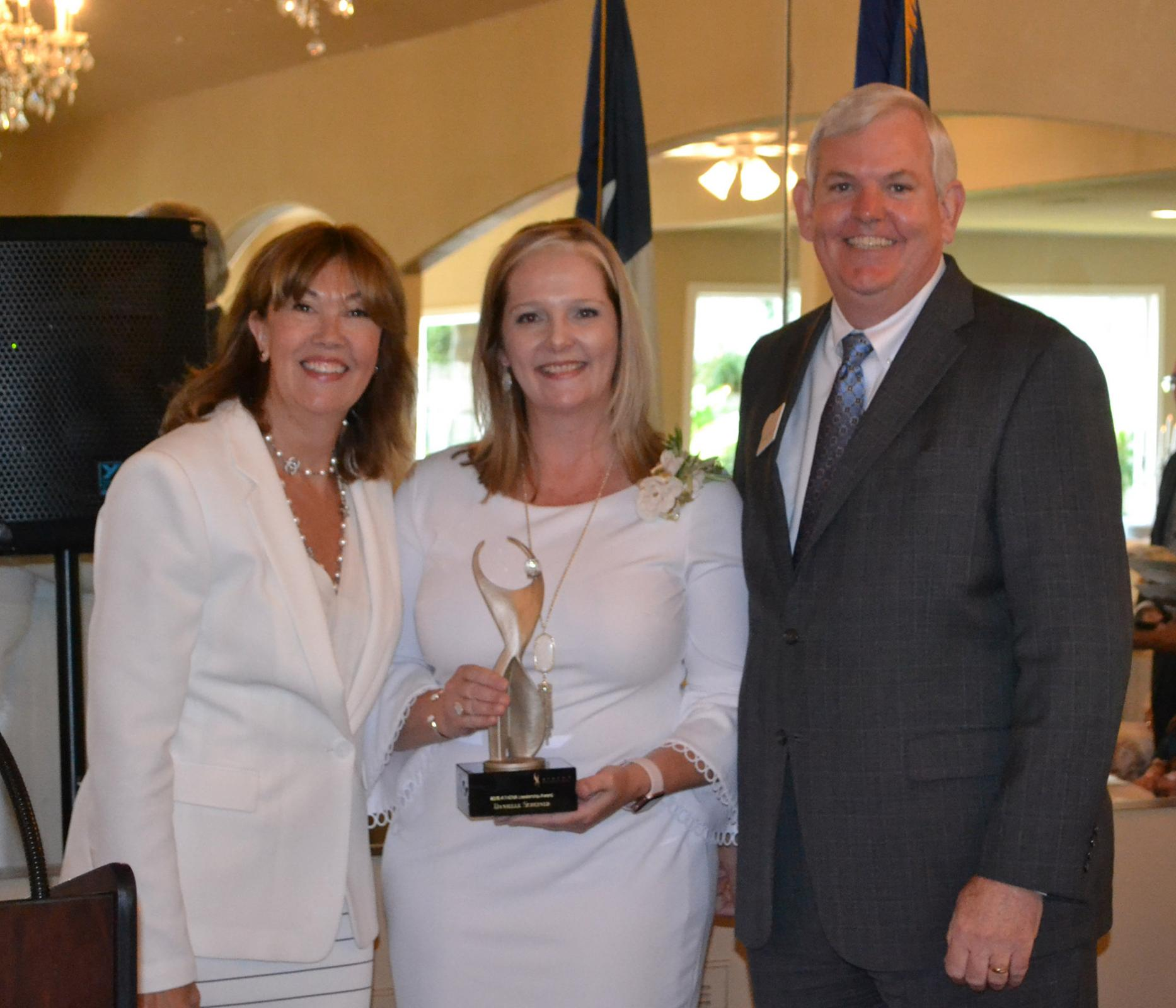 Scheiner Earns Inaugural ATHENA Leadership Award Main Photo