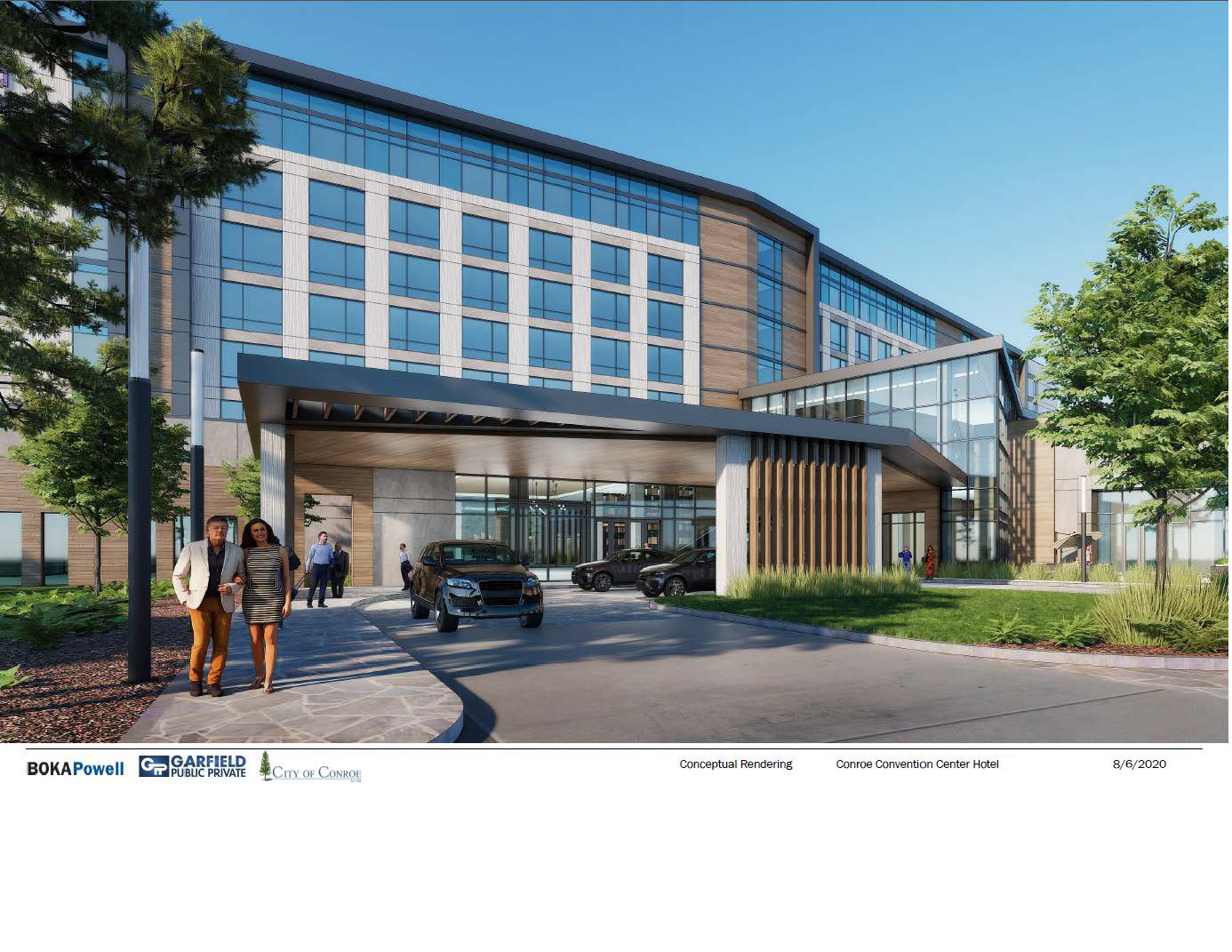 Excitement Builds for Conroe Hotel and Convention Center Main Photo