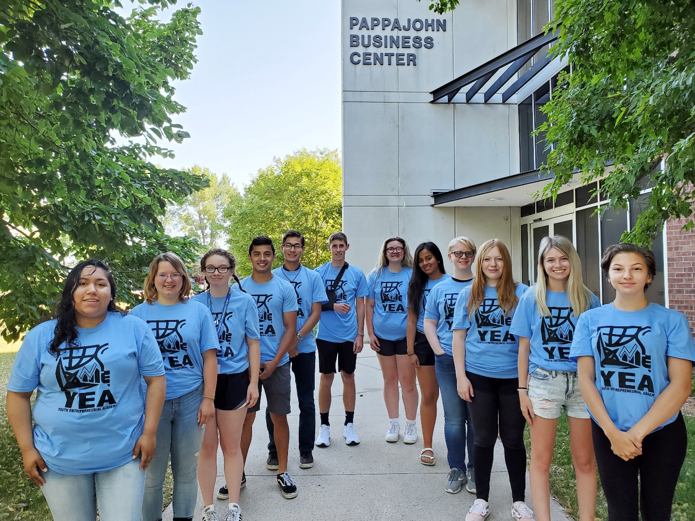 NIACC Pappajohn Entrepreneurial Center Hosts Youth Entrepreneurial Academy Main Photo