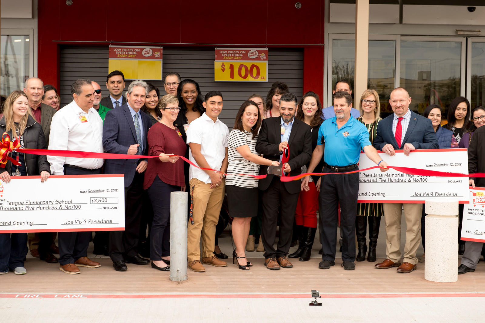 Joe V's Grocery Store opens in Pasadena creating 110 full-time jobs and will invest approximately 13.5 million dollars in capital improvements. Photo