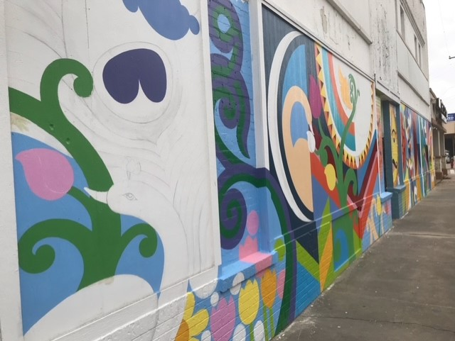 Revitalization for Shaw District Features Road Improvements & Mural Program Main Photo