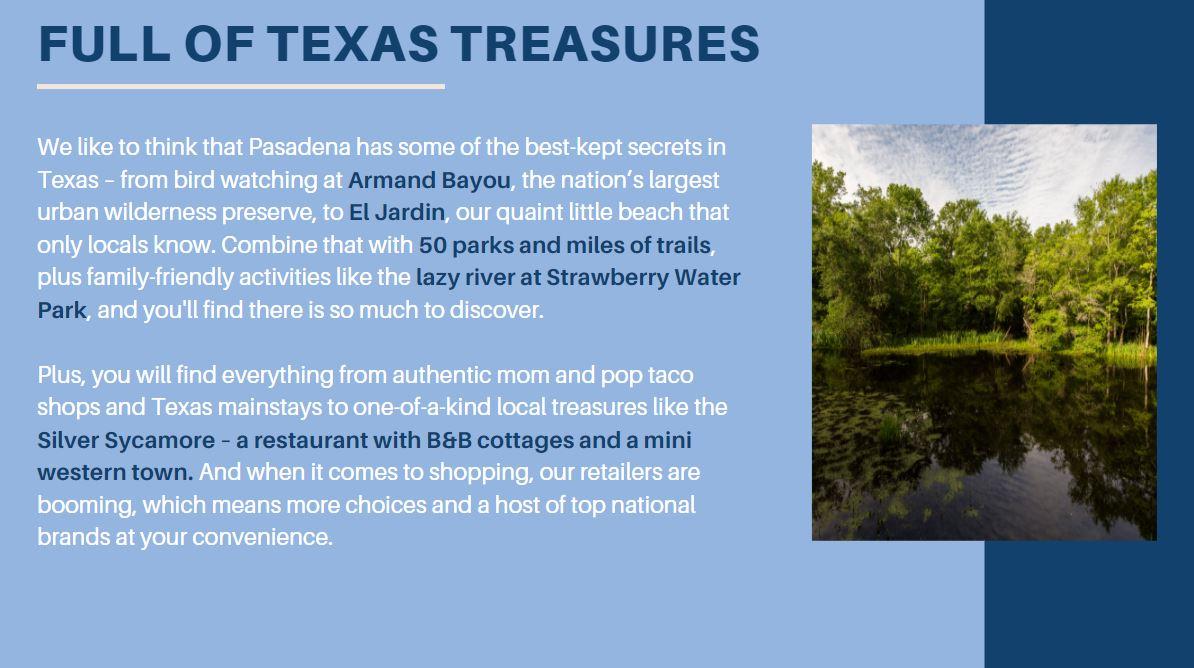 full of Texas treasures