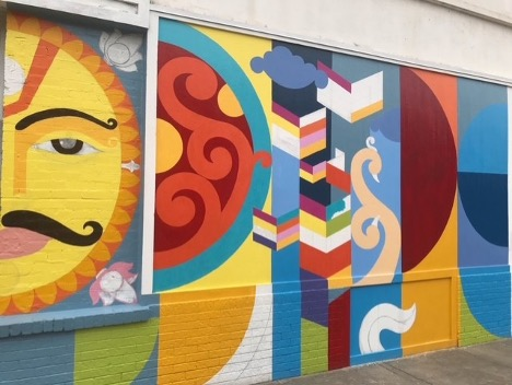Shaw Avenue District Mural Project Photo