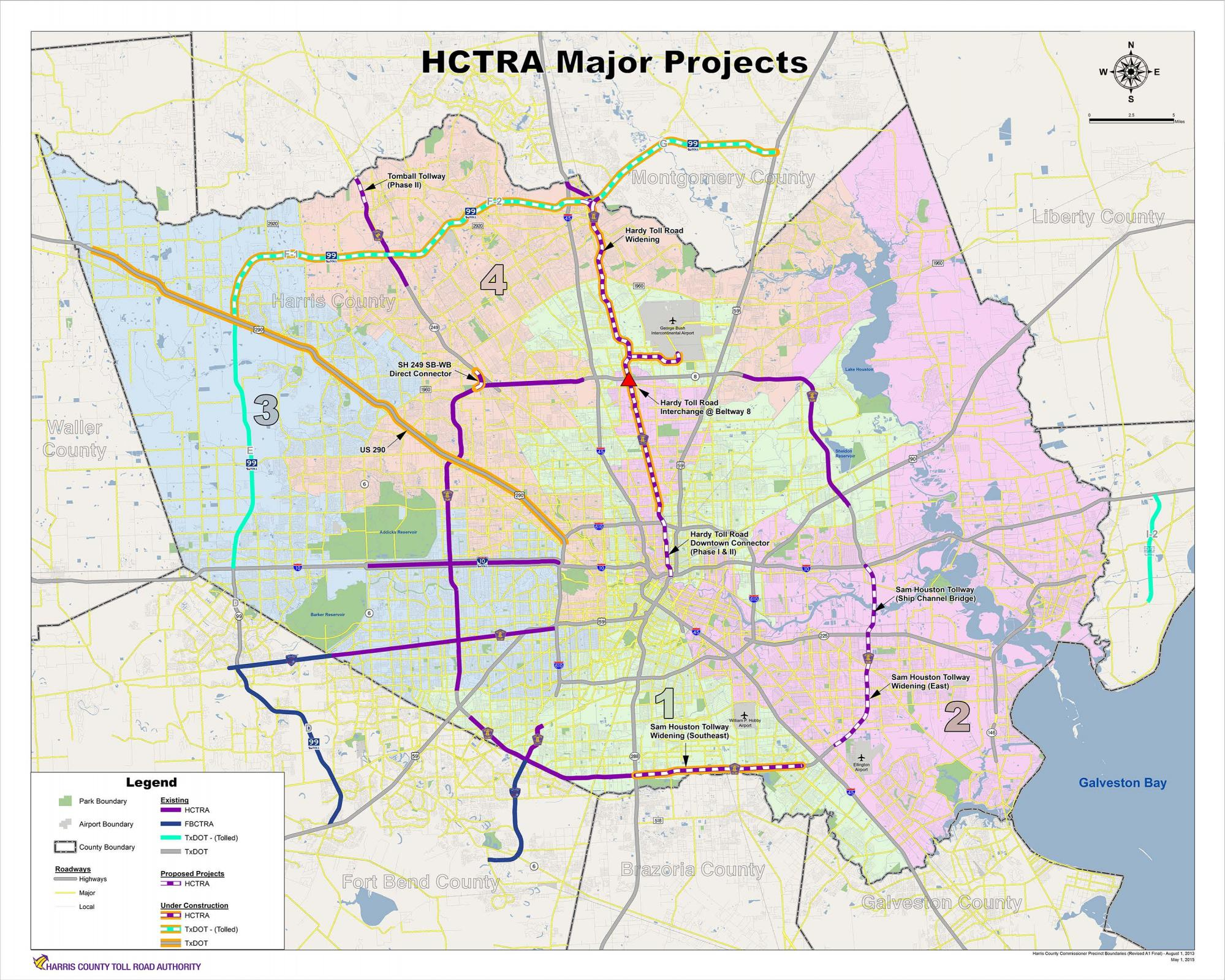 HCTRA Map