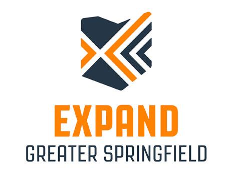 EXPAND Greater Springfield Partnership Logo (Vertical)