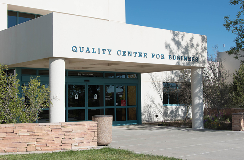 quality center for business entrance