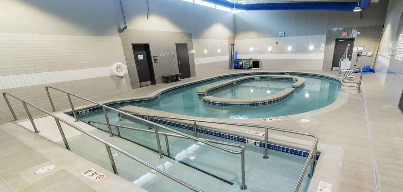 indoor pool facility