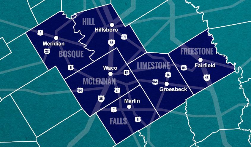 hotcog region map