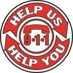 help us help you, 9-1-1