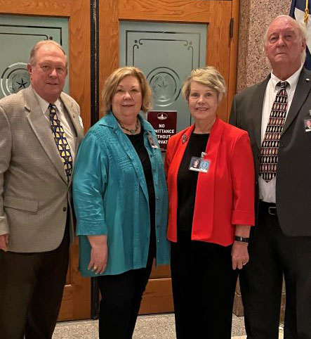 Four Delegates Representing the Heart of Texas AAA Sworn in as Members of the 19th Texas Silver-Haired Legislature (TSHL) Main Photo